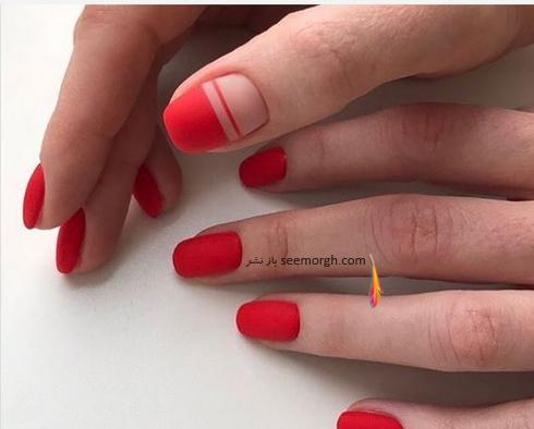طراحي ناخن,طراحي ناخن براي بهار,طراحي ناخن قرمز,طراحي ناخن قرمز براي بهار,طراحي ناخن با رنگ قرمز براي بهار 2019 - عکس شماره 1
