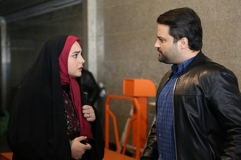 نرگس محمدي و مهدي سلوکي در سريال تلويزيوني ستايش 3