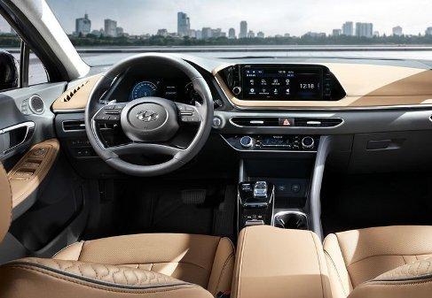 نماي داخلي سوناتا 2020 Hyundai Sonata