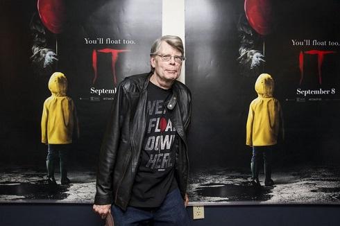 استیون کینگ Stephen King نویسنده ژانر وحشت