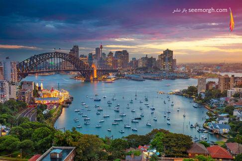 سفر,گردشگری,عکاسی,مسافرت,مقصد سفر,بهترین مکان برای سفر,سیدنی