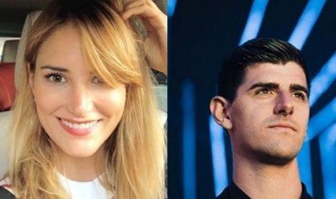 تیبو کورتوا دروازه بان بلژیکی رئال مادرید و  آلبا کاریو مجری 32 ساله