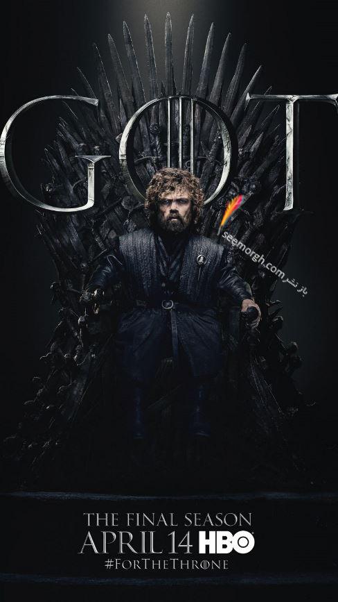 بازي تاج و تخت, بازيگران بازي تاج و تخت,فصل هشتم,پوسترها,Game of Thrones,تريون لنيستر