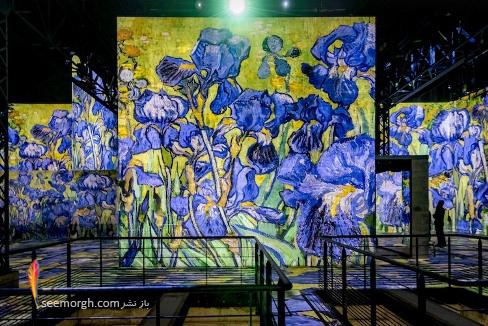 ونسان ون گوگ,نمایشگاه دیجیتالی,آتلیه لومیر,نقاشی های ون گوگ