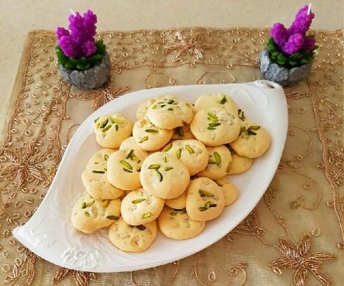 شیرینی ,شیرینی نوروزی,شیرینی گردویی,طرز تهیه شیرینی گردویی برای نوروز