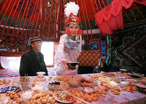 عید نوروز در قزاقستان