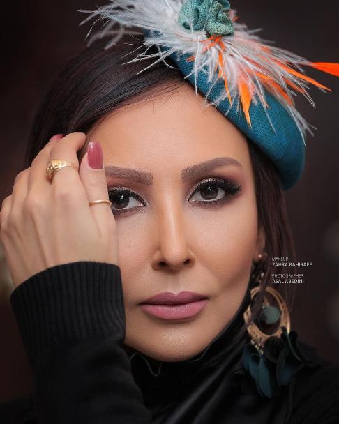 عکس تبلیغاتی پرستو صالحی