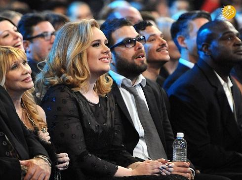اَدل Adele و همسر سابقش