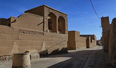بافت تاریخی عقدا در شهرستان اردکان