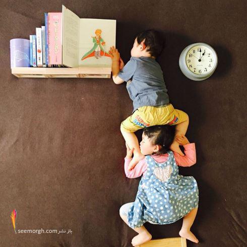 عکاسی,عکاسی از کودک,عکاسی کودک,ایده عکاسی,عکاسی خلاقانه,دوقلو, ayumiichi