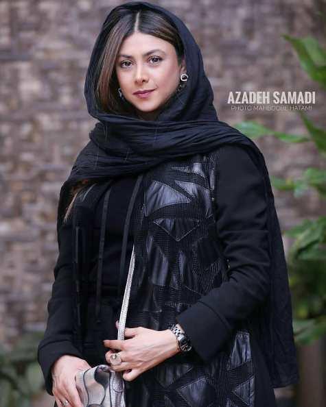 آزاده صمدی در اکران فیلم غلامرضا تختی
