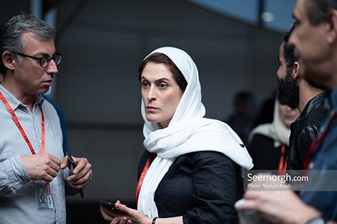جشنواره جهاني فجر,عکس جشنواره فجر,بهناز جعفري