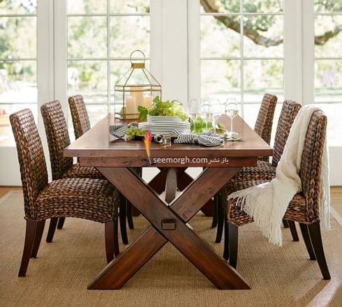 میز ناهارخوری,میزناهارخوری,خرید میز ناهار خوری,خرید میزناهارخوری,میز ناهارخوری مستطیل,میز ناهارخوری مربع,میز ناهار خوری مستطیل یا مربع برای خانه کوچک