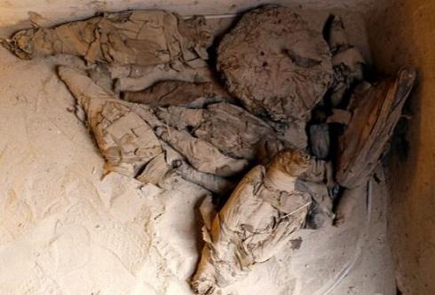 کشف مقبره تاریخی در مصر