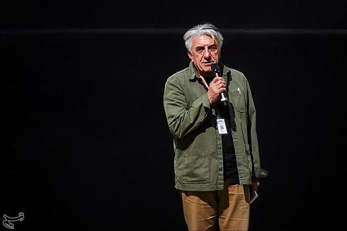 رضا کيانيان در افتتاحيه سيوهفتمين جشنواره جهاني فيلم فجر