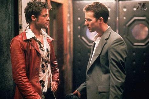 برد پیت در نقش تایلر داردن Tyler Durden