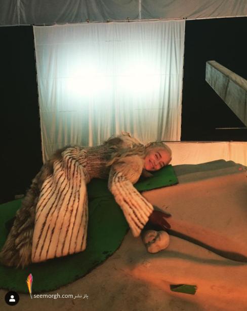 بازی تاج و تخت,پشت صحنه,بازیگران,دنریس