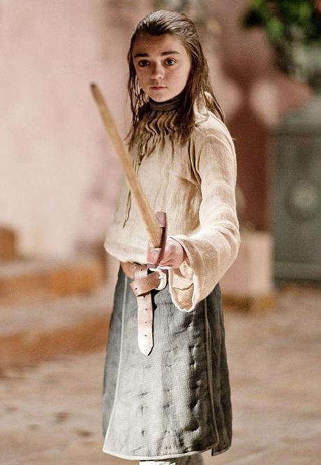 مایسی ویلیامز در سریال بازی تاج و تخت