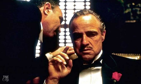 مارلون برندو در نقش ويتو کورلئونه Vito Corleone