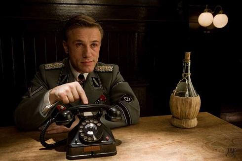 هانس لاندا Hans Landa در فیلم حروم زاده های لعنتی