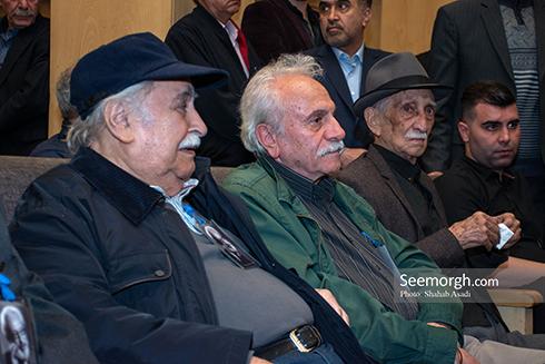 جمشید مشایخی,ختم,ترحیم,مسجد,بازیگران,ایرج راد