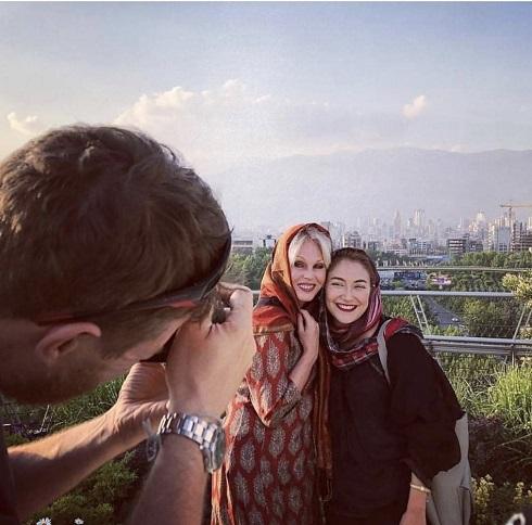 جوانا لاملي در ايران