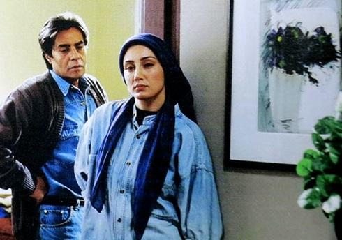خسرو شکيبايي و هديه تهراني در فيلم کاغذ بي خط