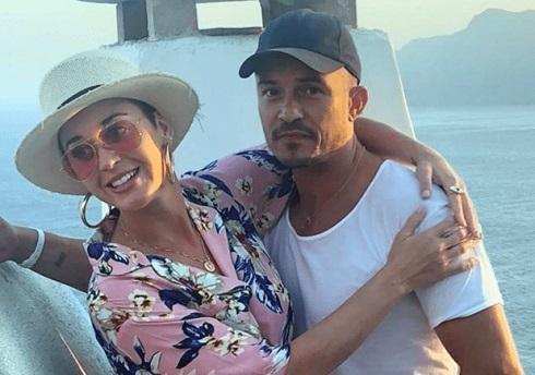 کیتی پری در کنار اورلاندو بلوم