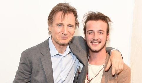 ليام نيسون و پسرش