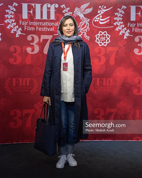 جشنواره جهانی فجر, روزسوم جشنواره فجر,عکس های جشنواره,عکس های سیمرغ,مهتاب کرامتی