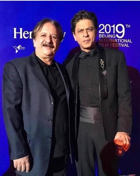 شاهرخ خان و مجید مجیدی در یک قاب