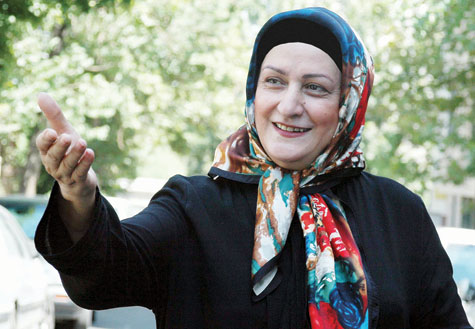 بازيگر طنز سينما و تلويزيون مريم اميرجلالي