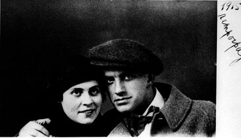 ولادیمیر مایاکوفسکی و لیلی بریک