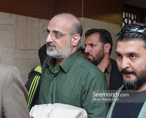 جمشید مشایخی,ختم,ترحیم,مسجد,بازیگران,محمد اصفهانی