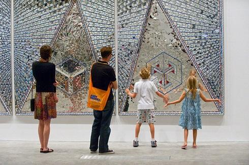نمایشگاه آثار منیر فرمانفرماییان در موزه گوگنهایم نیویورک
