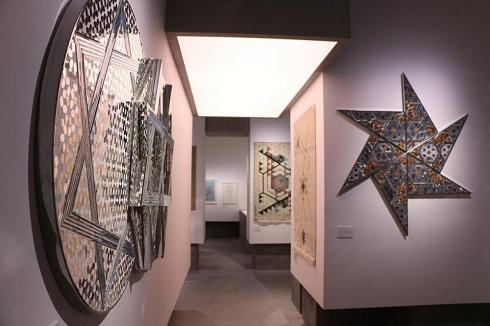 تالار اختصاصی آثار منیر فرمانفرماییان در باغ نگارستان تهران