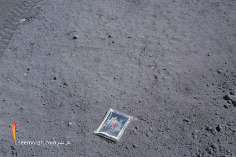 عکس قدیمی,عکس تاریخی,سفر به ماه,چارلز دوک