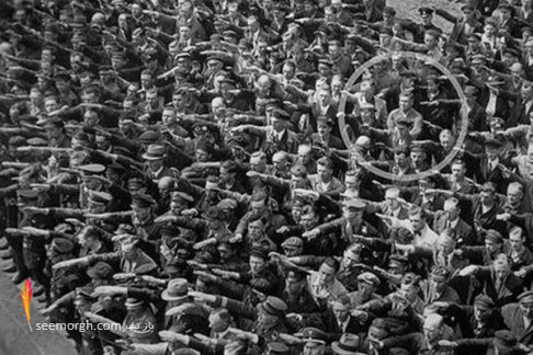 عکس قدیمی,نازی,هیتلر,حزب نازی