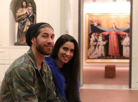 راموس و همسرش در موزه هنري