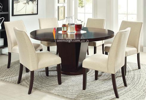میز ناهارخوری,میزناهارخوری,خرید میز ناهار خوری,خرید میزناهارخوری,میز ناهارخوری گرد,میز ناهار خوری گرد هرگز!