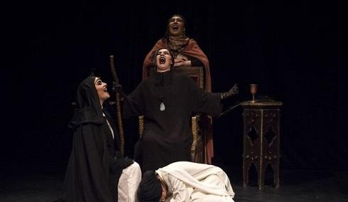 اجرای تئاتر نه نه نه در تماشاخانه مهرگان