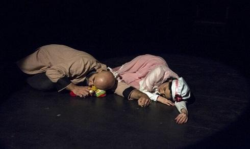 کودک همسری در نمایش نه نه نه در تماشاخانه مهرگان