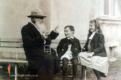 عکس قدیمی,عکس زیرخاکی,عکس تاریخی,تولستوی