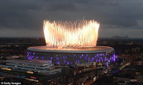 افتتاح ورزشگاه تاتنهام 1