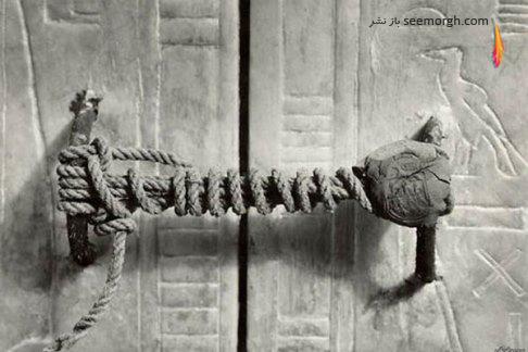 عکس قدیمی,عکس باستانی,مصر باستان,معبد,توت انخ آمون