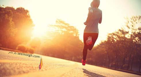 دویدن در جاده