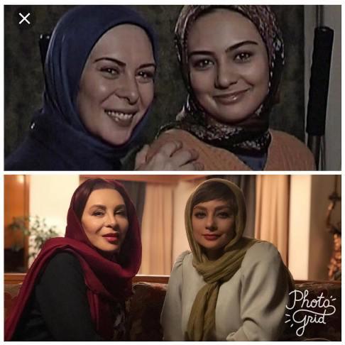 تغيير چهره يکتا ناصر و افسانه بايگان
