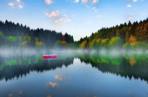 دریاچه آرام و بکر کاراگول ترکیه