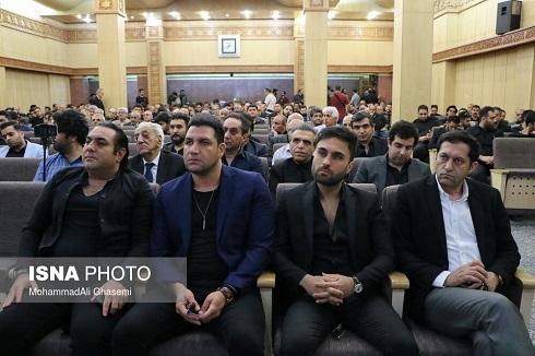 حضور گروه سون در مراسم ترحیم بهنام صفوی در تهران