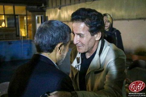 ابوالفضل پورعرب,افطاری,احمدی نژاد